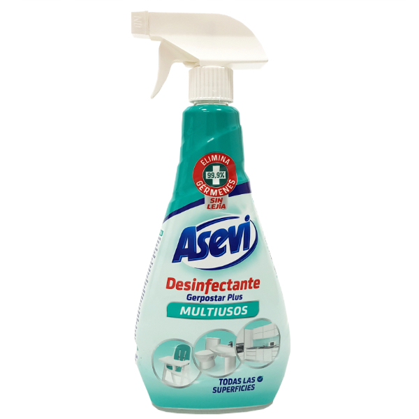 Limpiador desinfectante bactericida Asevi 750 ml