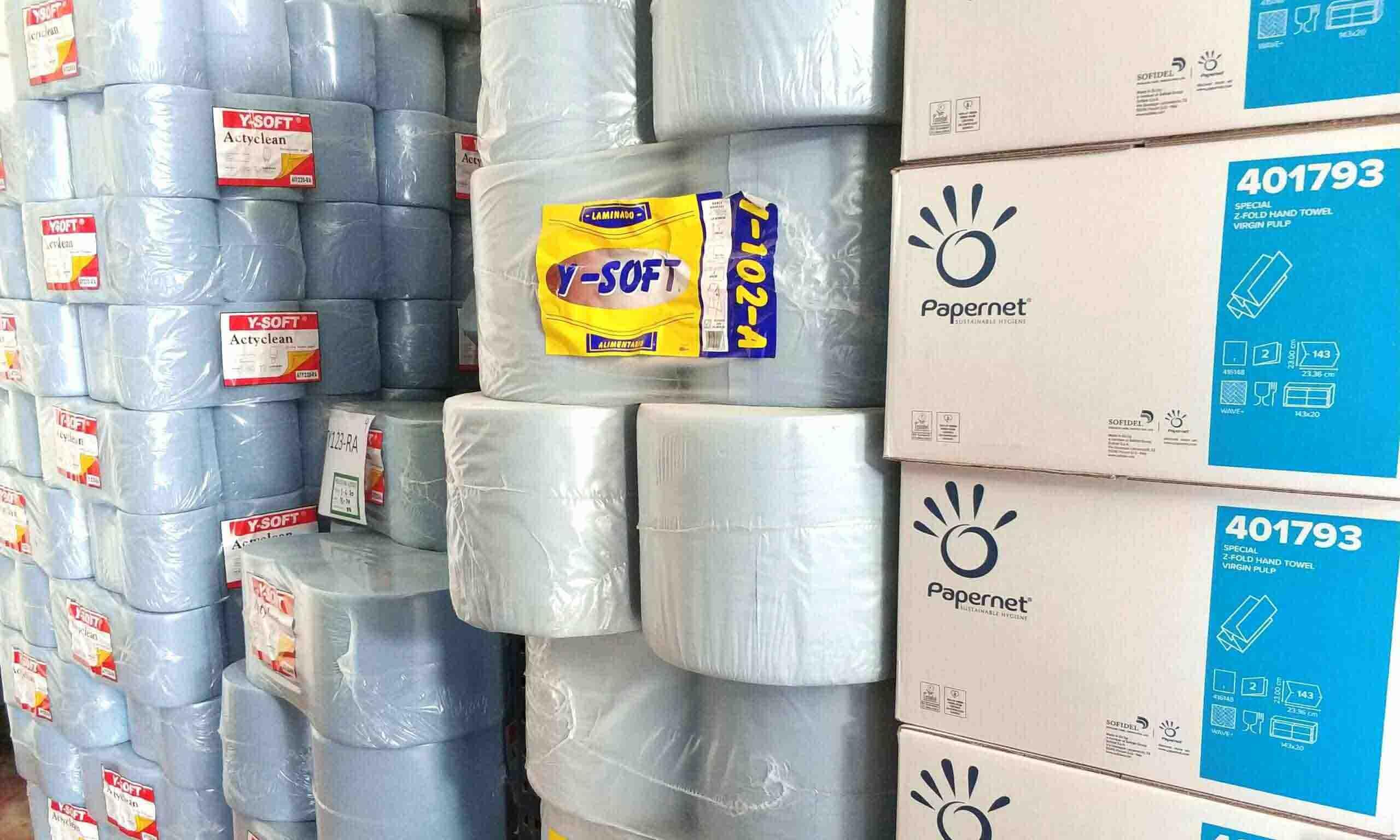 Alcaraz higiene bobinas de papel