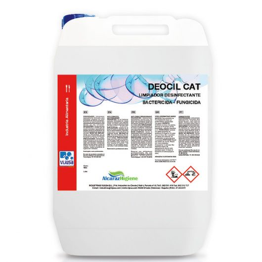 Limpiador desinfectante virucida Deocil Cat 5 litros