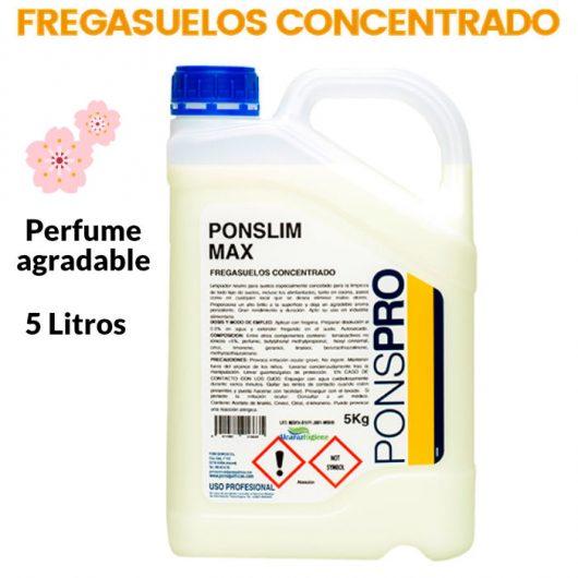 Fregasuelos perfumado Ponslim max Friegasuelos