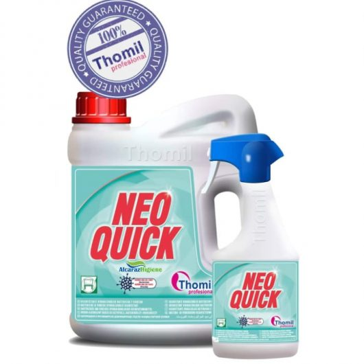 Desinfectante hidroalcoholico bactericida Thomil