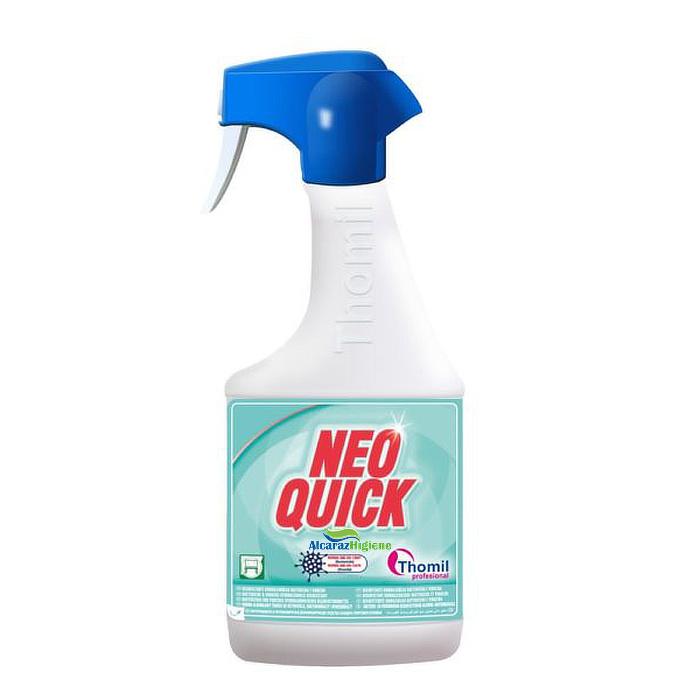 Desinfectante hidroalcoholico bactericida Neo Quick botella 750 ml