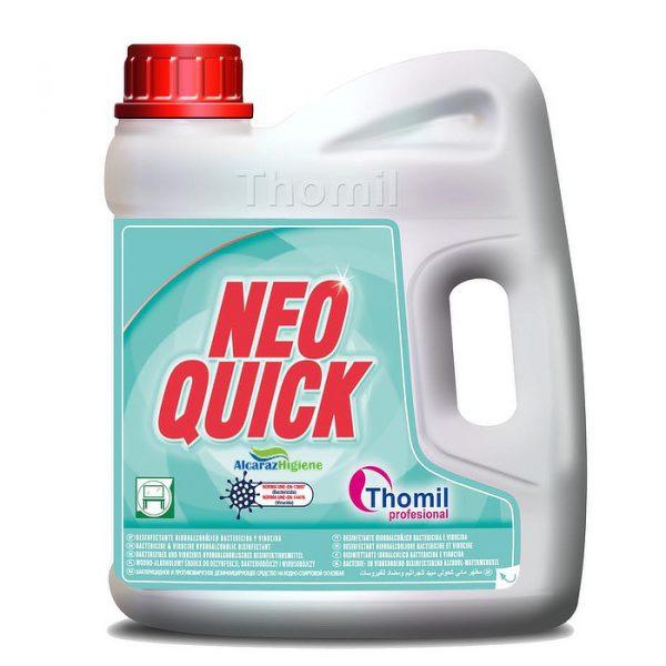 Desinfectante hidroalcoholico bactericida garrafa 4 litros