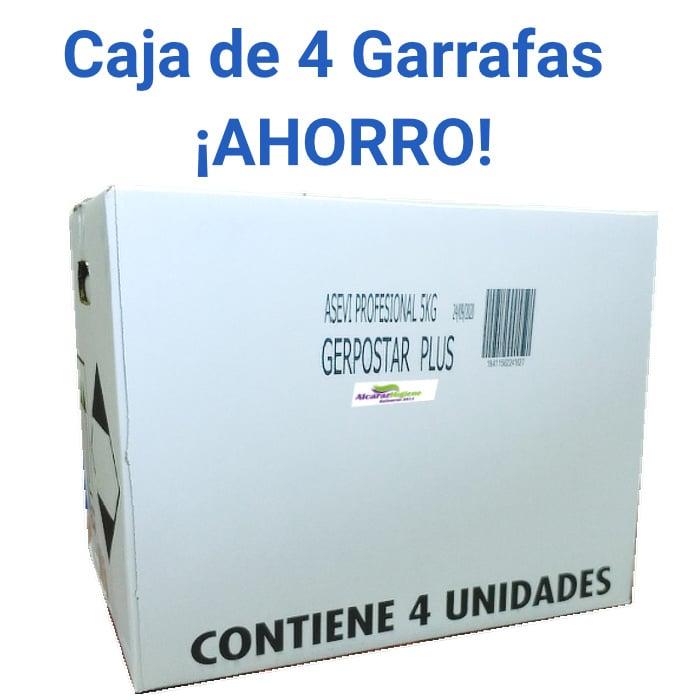 Caja 4 Limpiador desinfectante Asevi 5 litros