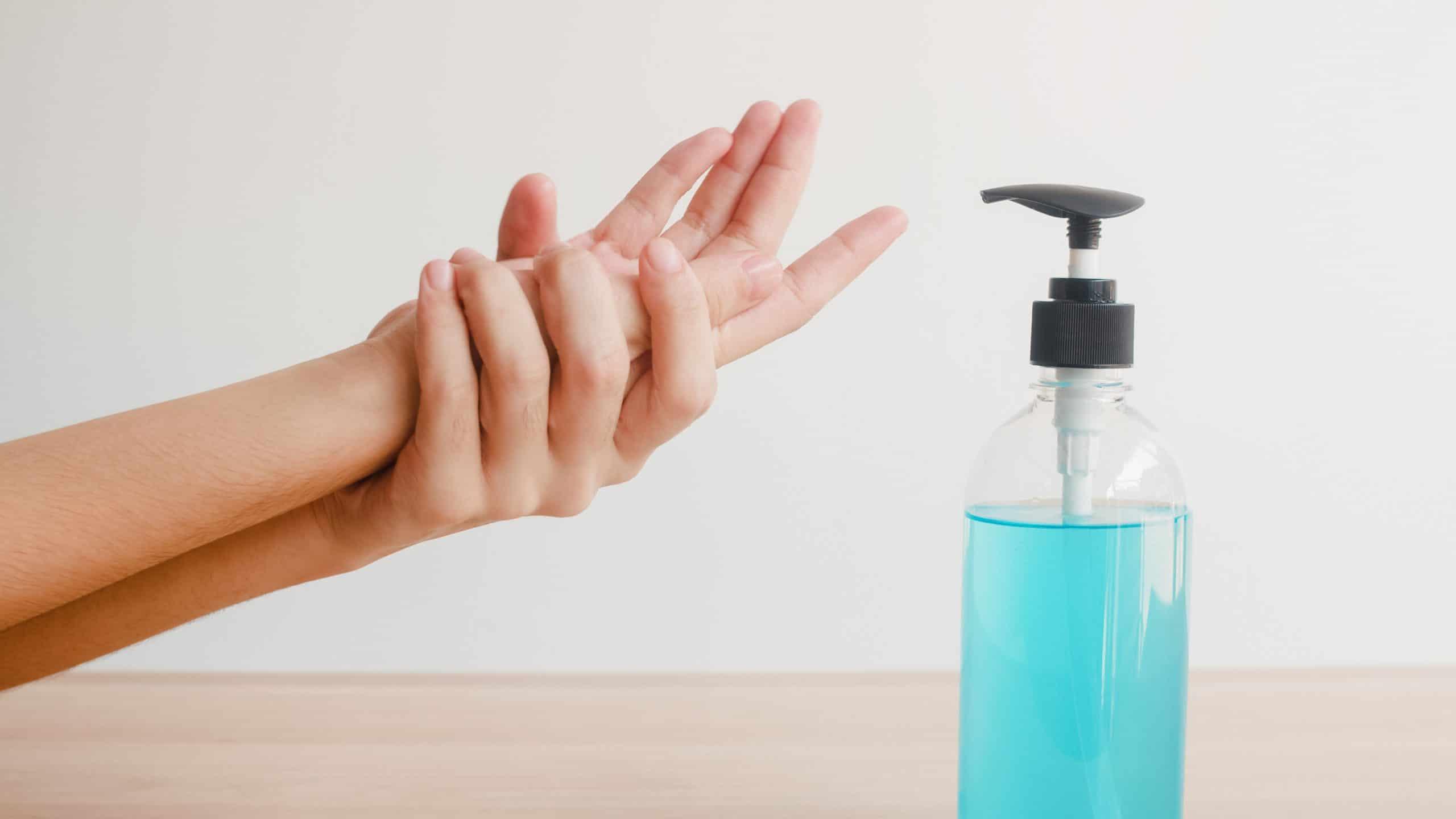 Gel antiseptico manos Higiene Alcaraz