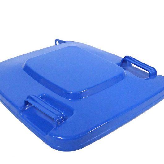 Tapa contenedor basura industrial azul