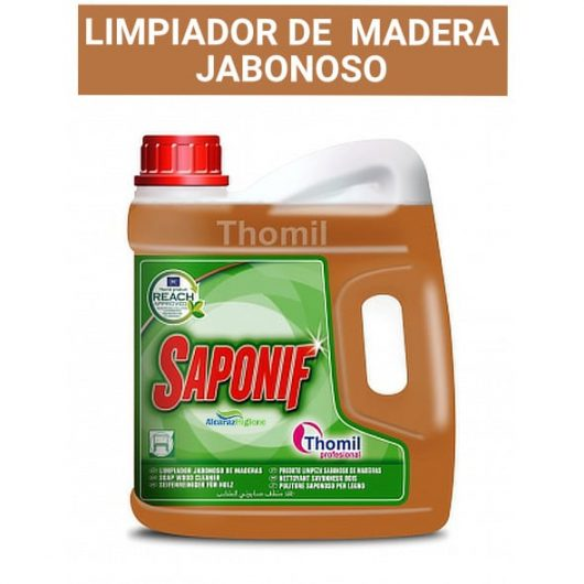 Limpiador de MADERA JABONOSO Saponif