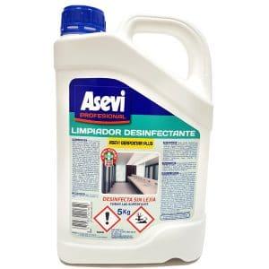 Desinfectante bactericida sin lejía Asevi Gerpostar Plus 5L