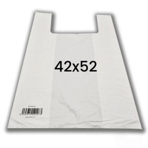 Bolsa de plastico con asas comercios