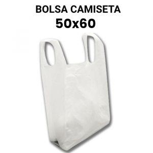 Bolsas de plastico camiseta 50x60
