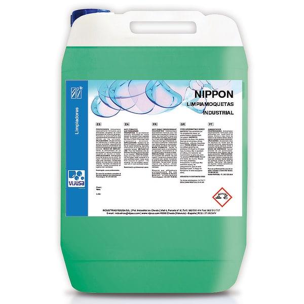 Limpiador de moquetas industrial Nippon 5 litros