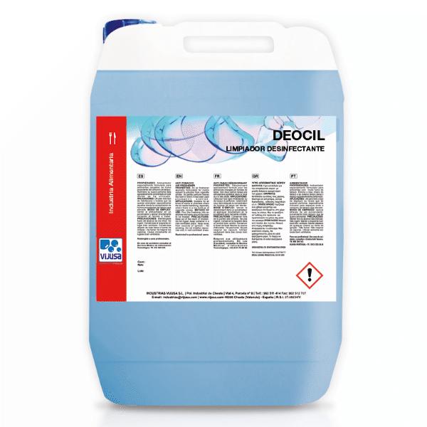 Limpiador desinfectante Deocil