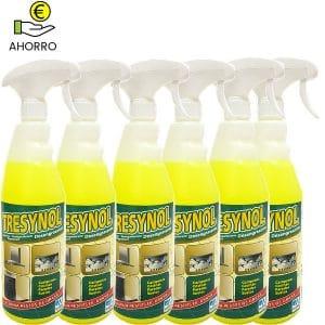 Desengrasante cocinas Tresynol pulverizador 750 ml Pack 6 botellas