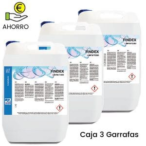 Limpiatodo multiusos Findex 5 litros Pack 3 Garrafas