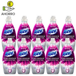Perfumador líquido para ropa Asevi Pink 720 ml Pack 10 Botellas