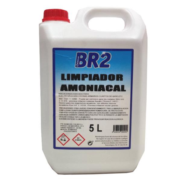 Limpiador con Amoniaco 5 Litros