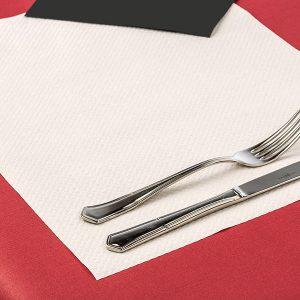 Mantel individual papel cortado 30x40 Blanco (1000 unidades)